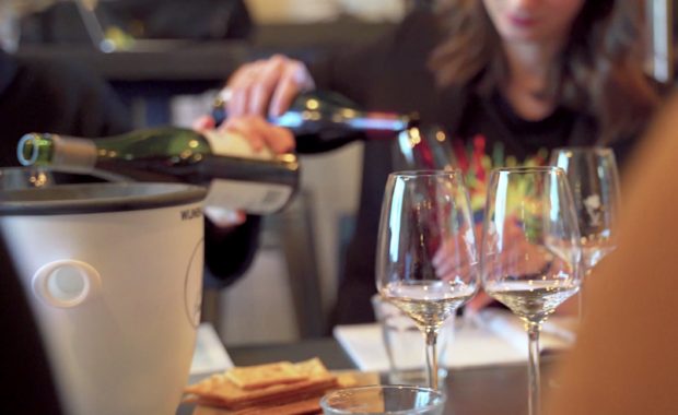 Learn the proces of tasting wine